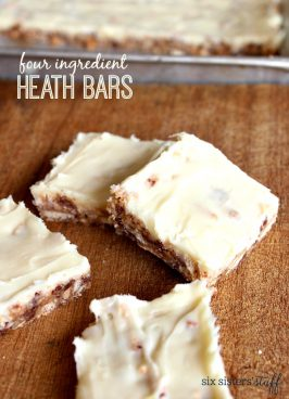 Four Ingredient Heath Bars