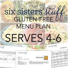 Six Sisters' Stuff Gluten-Free Menu Plan Membership