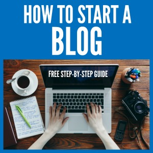 How To Start A Blog with SixSistersStuff