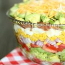 Layered Cobb Salad from SixSistersStuff.com