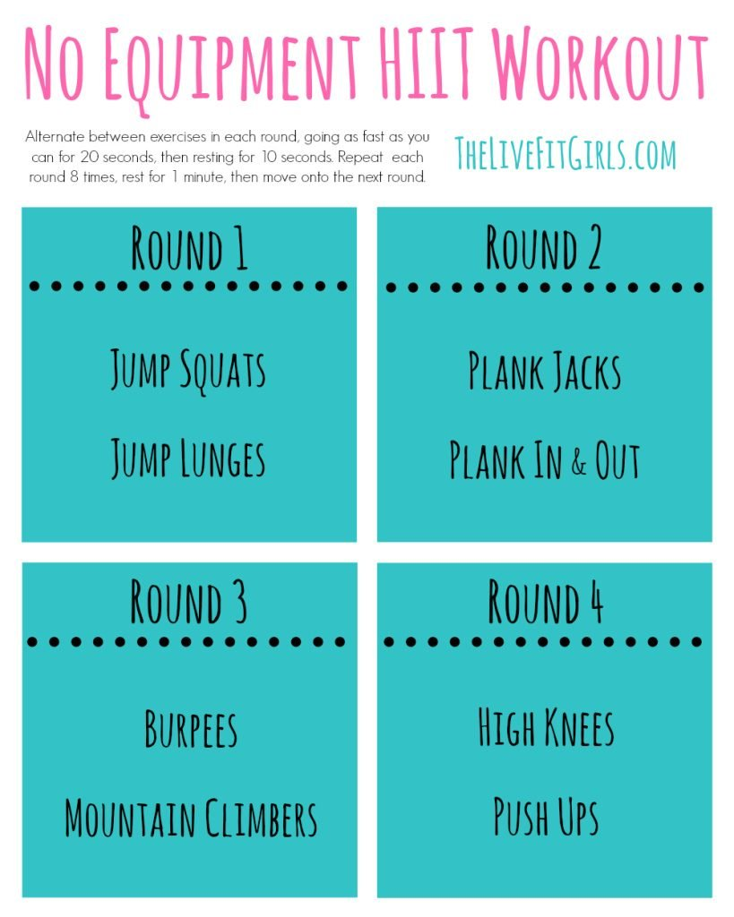 No-Equipment-HIIT