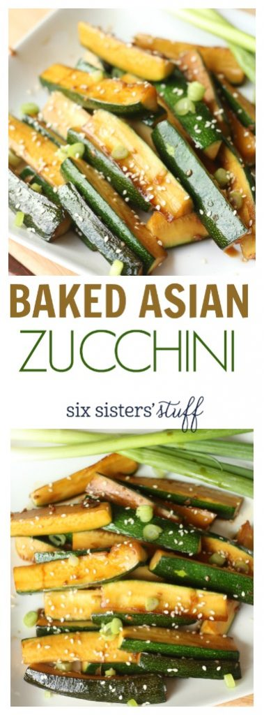 PIN Baked Asian Zucchini