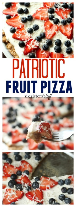 Patriotic Fruit Pizza pin