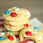 Patriotic Pudding Cookies from SixSistersStuff.com