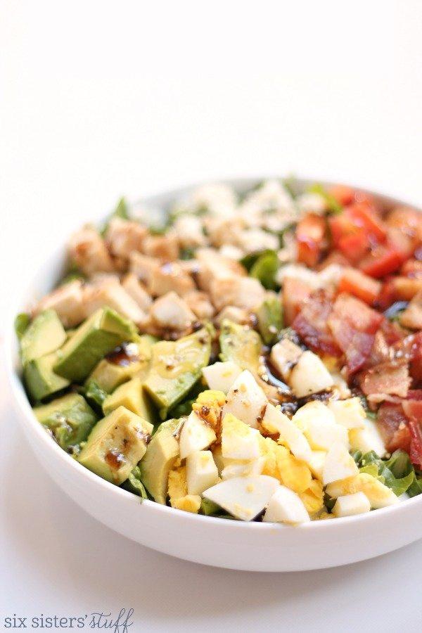 Santa Barbara Cobb Salad (Habit Grill Copycat) Recipe