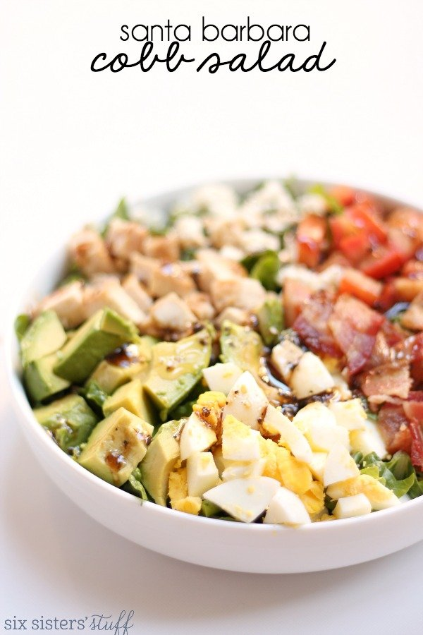 Six Sisters' Stuff Santa Barbara Cobb Salad
