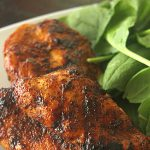 Spicy Honey Glazed Chicken on SixSistersStuff.com