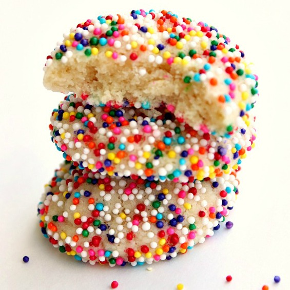 Sprinkle Sugar Cookies 2