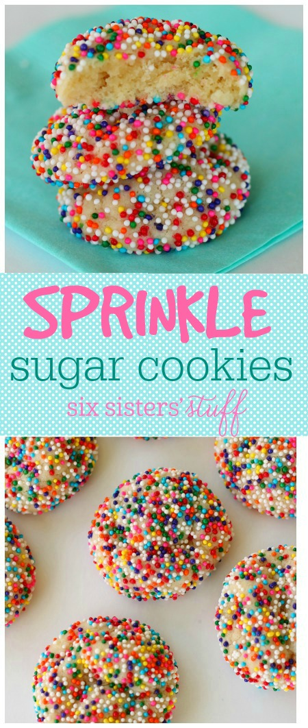 Sprinkle Sugar Cookies 4