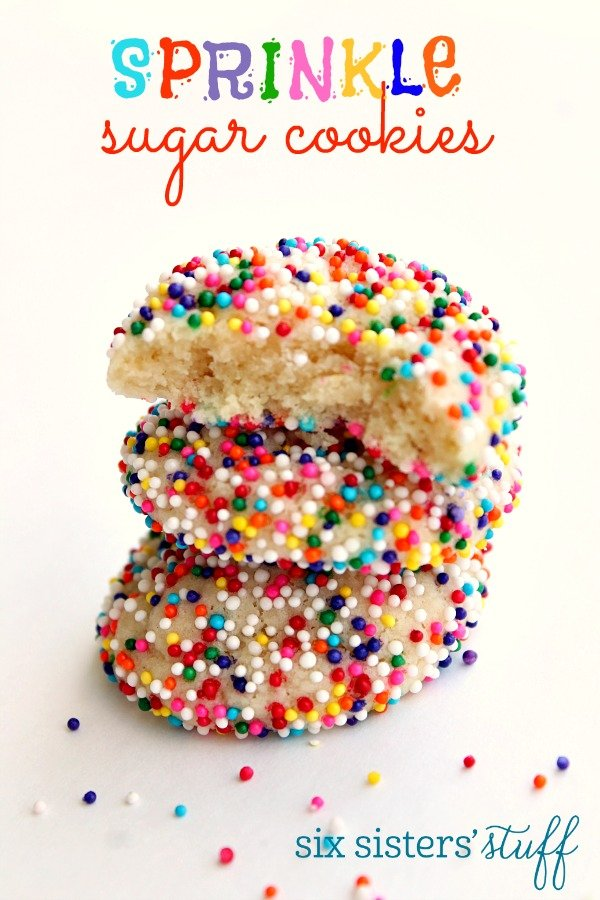 Sprinkle Sugar Cookies