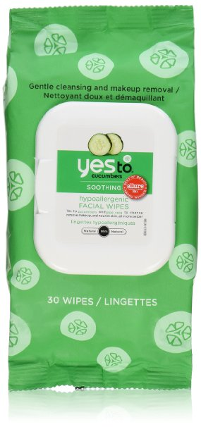 Yes to Cucumber Facial Towelettes