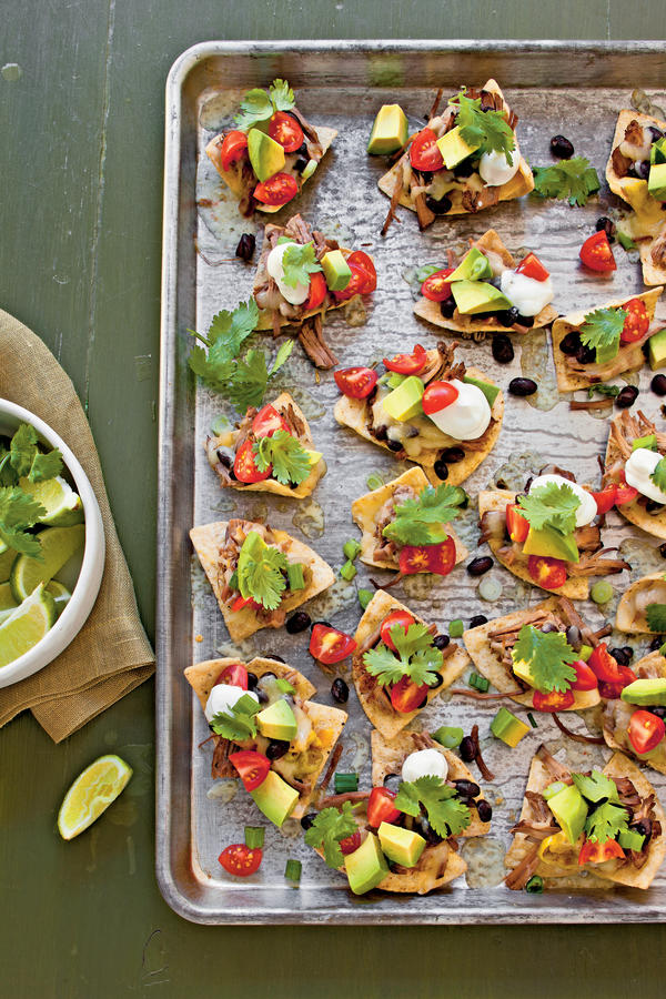 slow cooker nachos