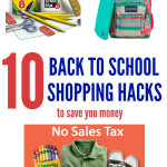 10 Back to School Shopping Hacks