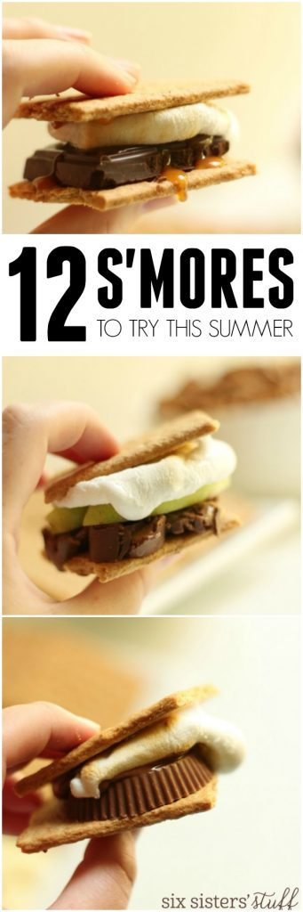 12 different s'mores to try this summer