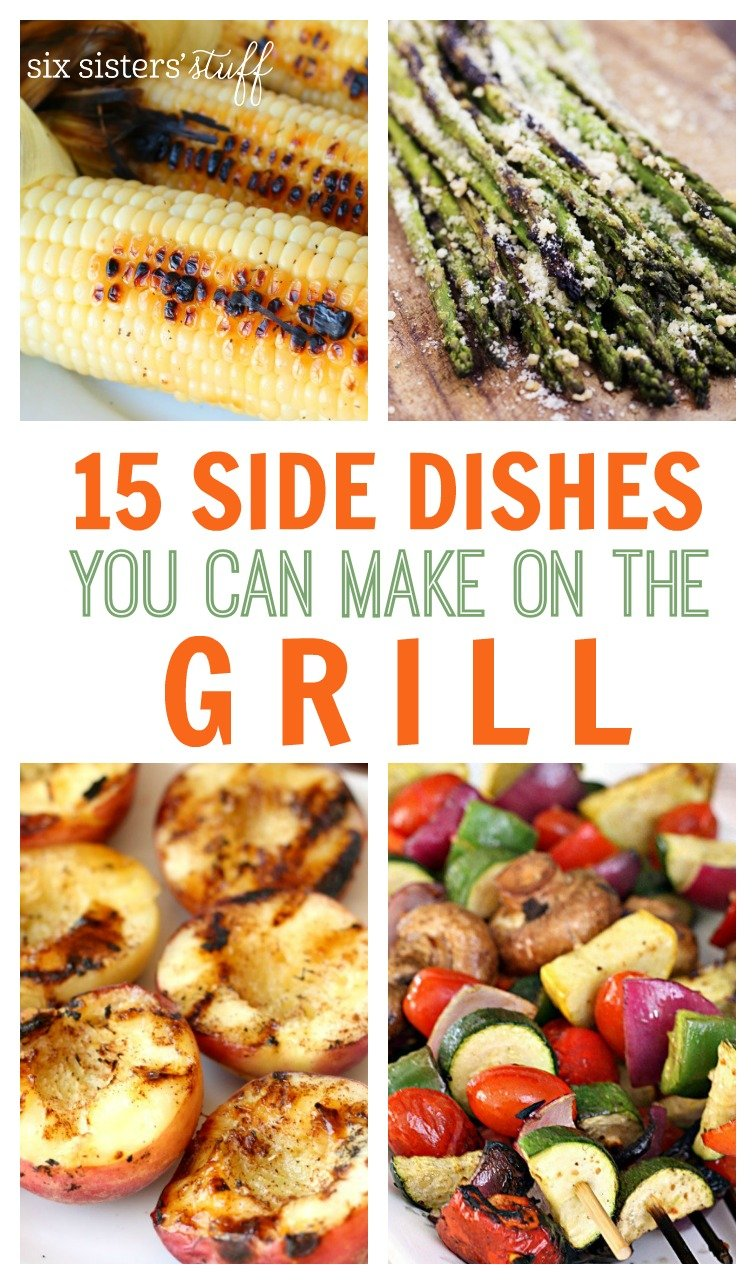 15 Side Dishes You Can Make On The Grill