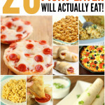 20 dinners your picky eater will actually eat (and love)!  SixSistersStuff.com