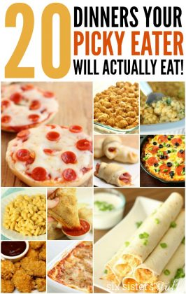 20 Dinner Recipes for Picky Eaters