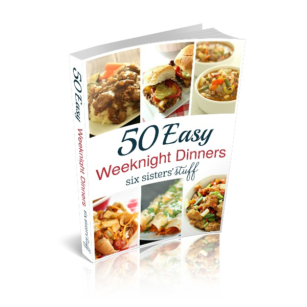 50 Easy Weeknight Dinners Product Image