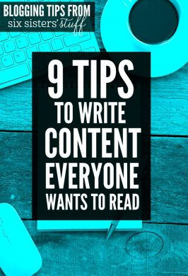 9 Tips To Help You Write Amazing Blog Content