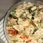 Grilled Chicken Bow Tie Pasta Salad