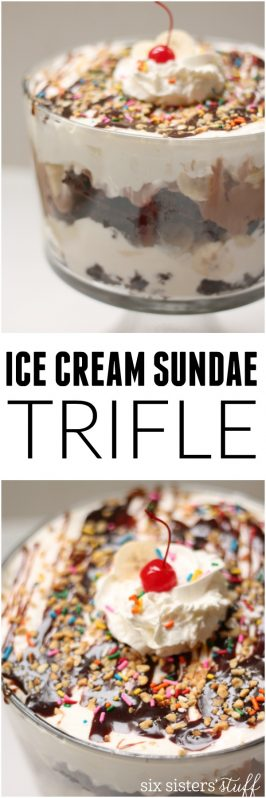 Ice Cream Sundae Trifle Recipe