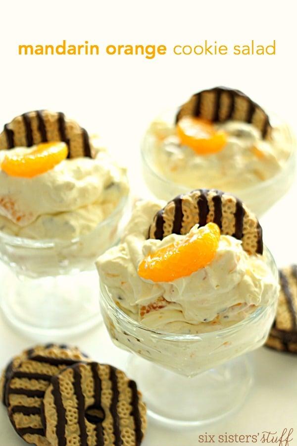 Mandarin Orange Cookie Dessert Salad Recipe