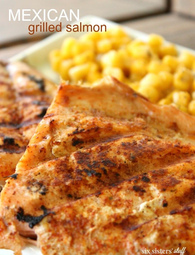 Mexican Grilled Salmon