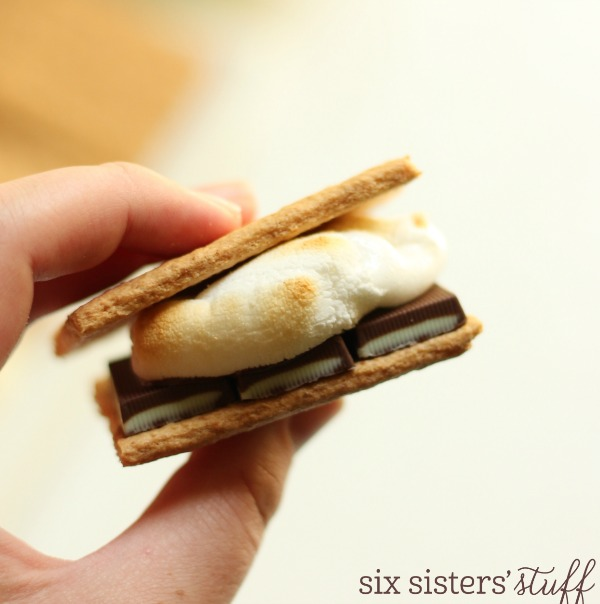 Mint Chocolate S'more