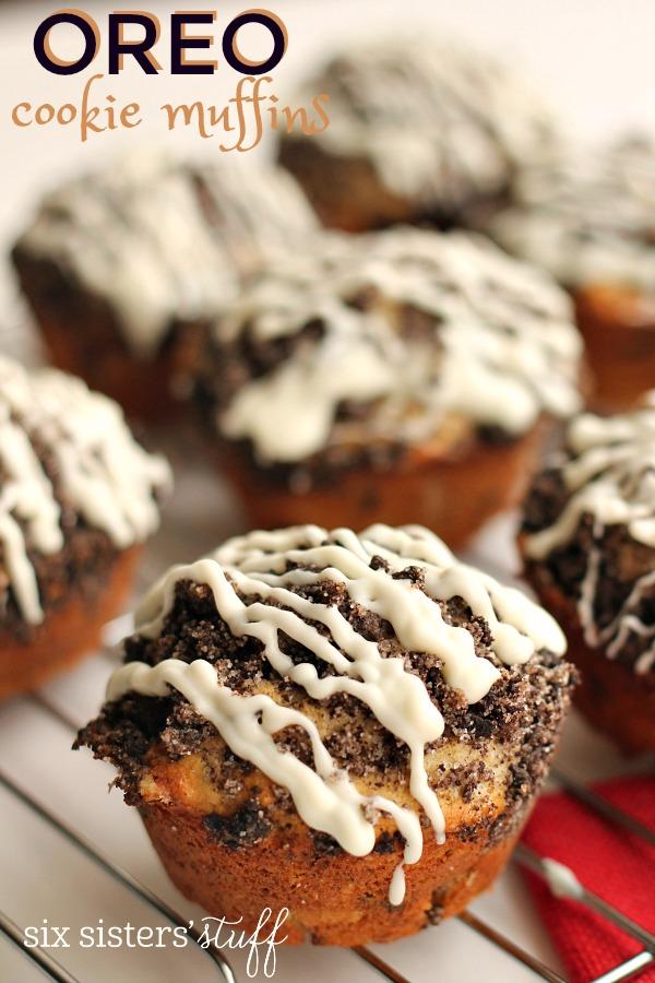 Oreo Cookie Muffins Recipe