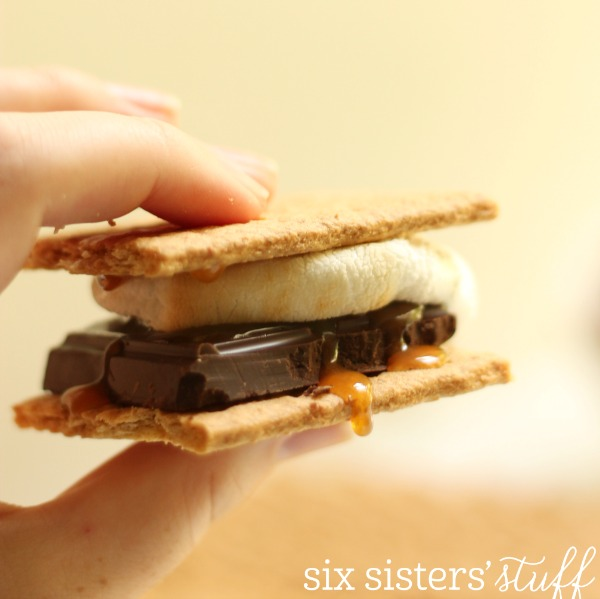 Salted Caramel S'more Six Sisters' Stuff