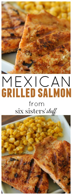 mexican grilled salmon from six sisters' stuff pin