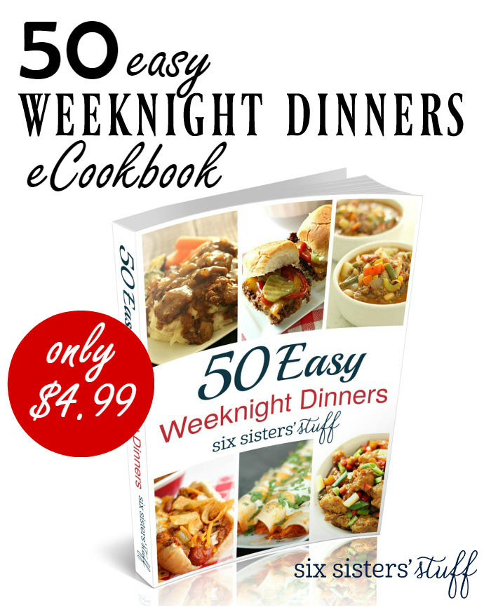 50 Easy Weeknight Dinners eCookbook