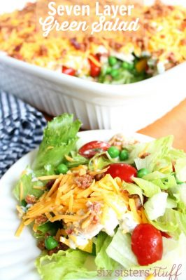 Seven Layer Green Salad