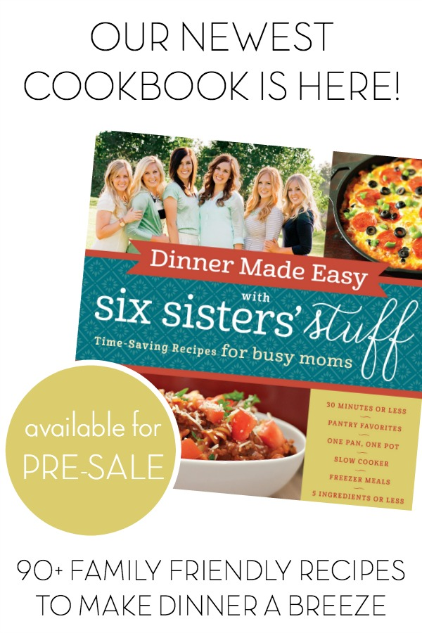 NEW Dinner Made Easy Cookbook is Available for PRE-SALE!