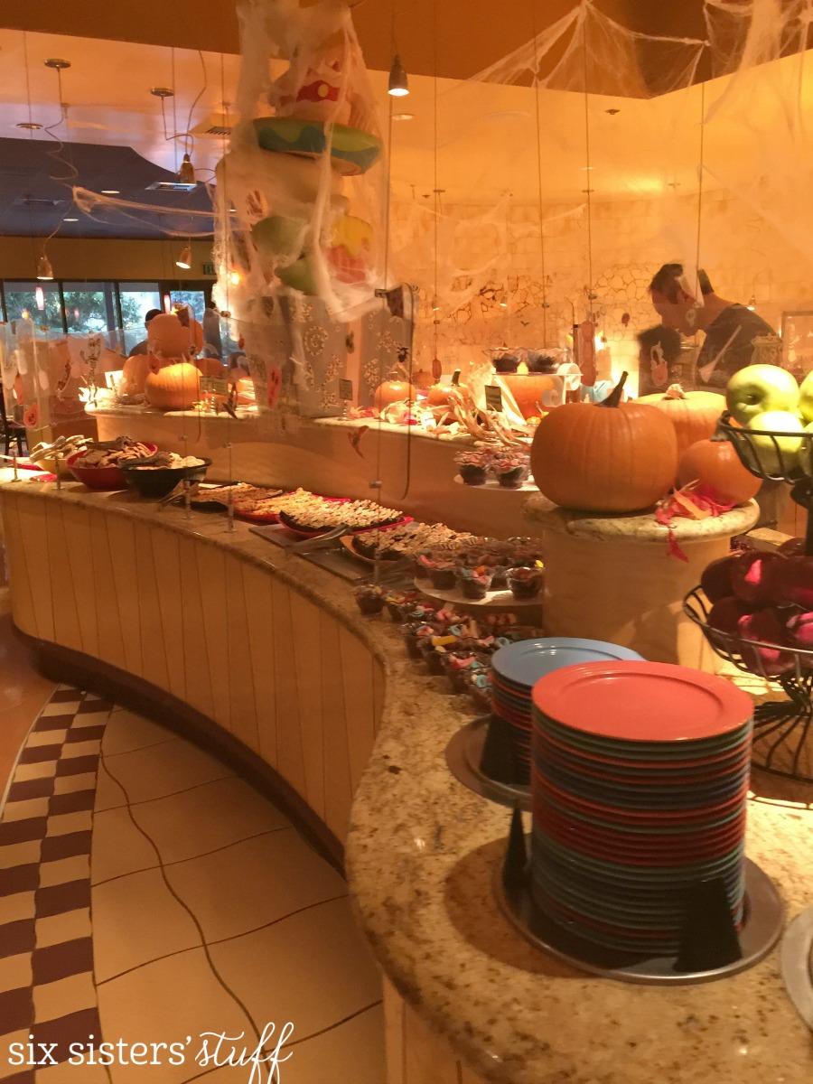 Goofy's Kitchen at Halloween