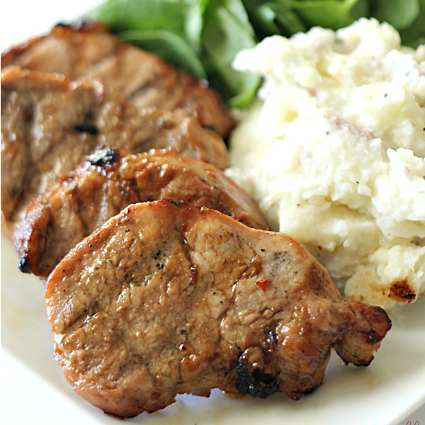 Grilled Pork Loin Medallions - SixSistersStuff
