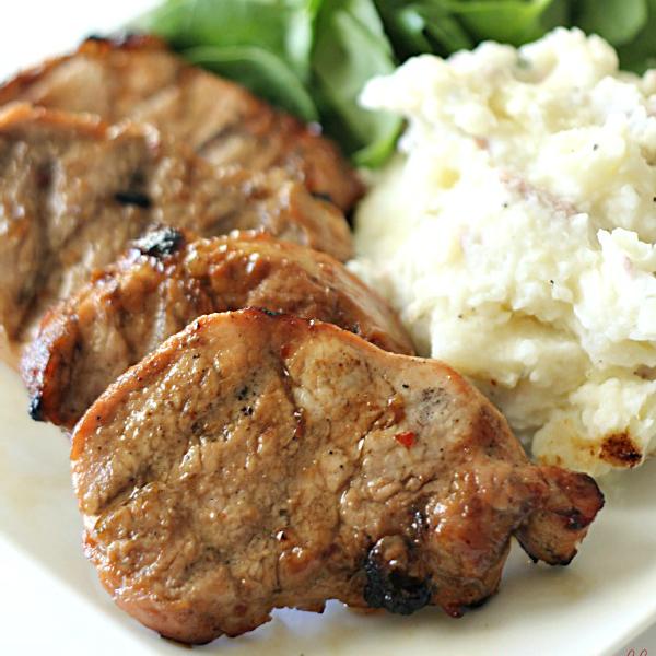 Grilled Pork Loin Medallions - SixSistersStuff