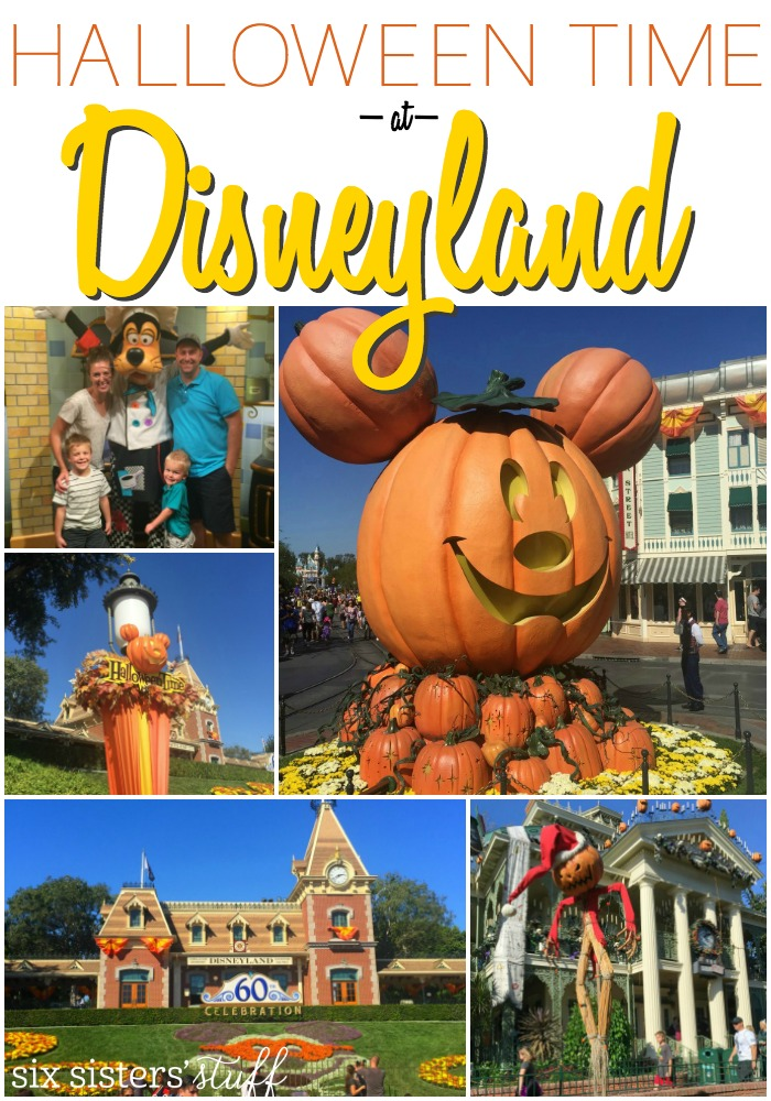 Halloween Time at Disneyland on SixSistersStuff.com