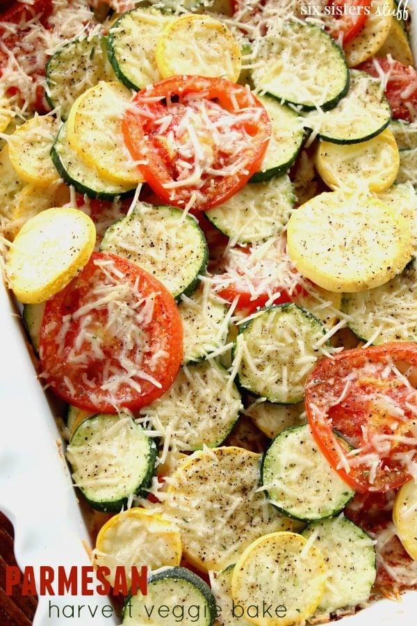 Harvest veggie bake