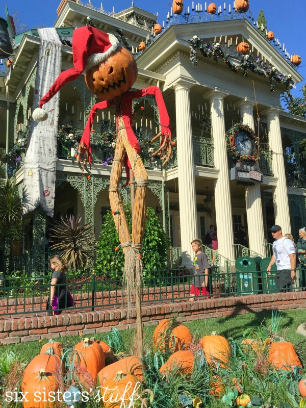 Haunted Mansion at Halloween