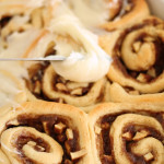 Homemade Apple Cinnamon Rolls from SixSistersStuff.com