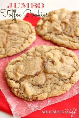 Jumbo Toffee Cookies Recipe