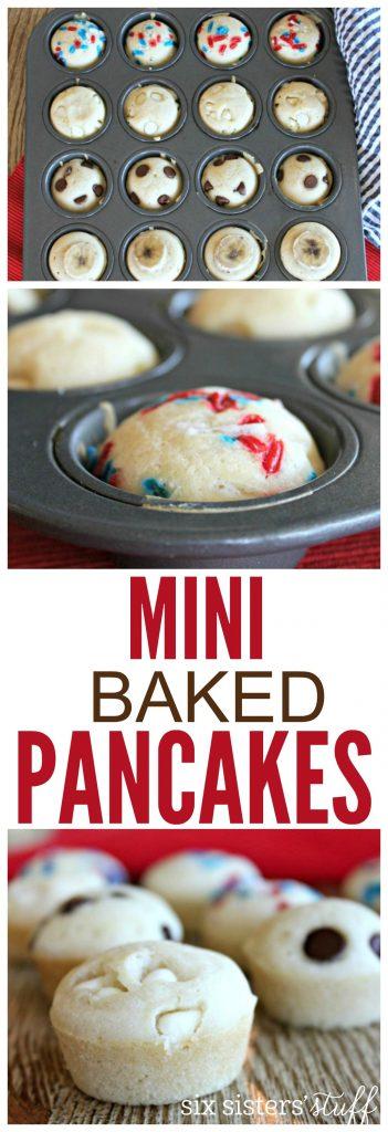 Mini Baked Pancakes 5