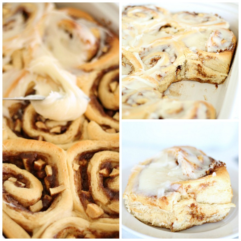 The Best Homemade Apple Cinnamon Rolls from SixSistersStuff.com