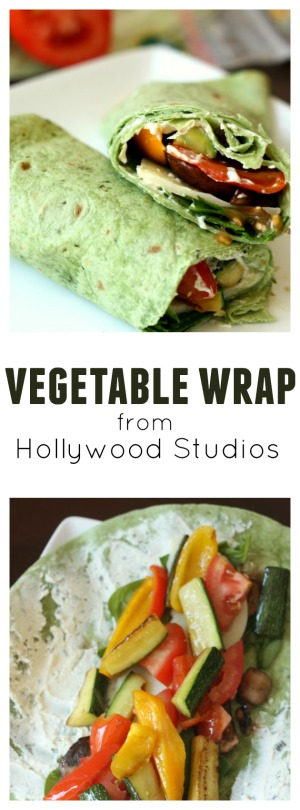 Vegetable wrap from Hollywood Studios pin