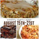 Weekly menu plan august square