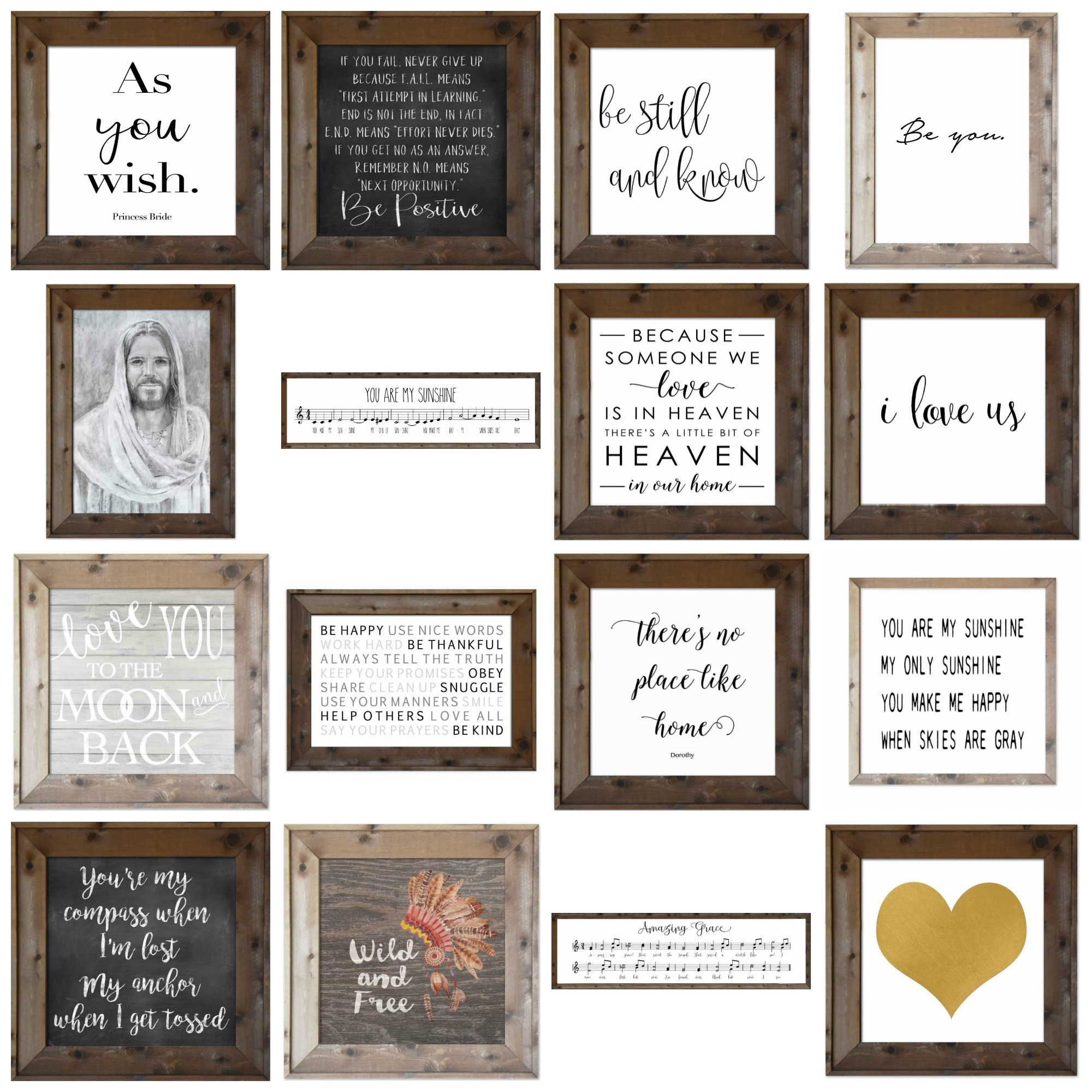 Whimzical Woods Signs