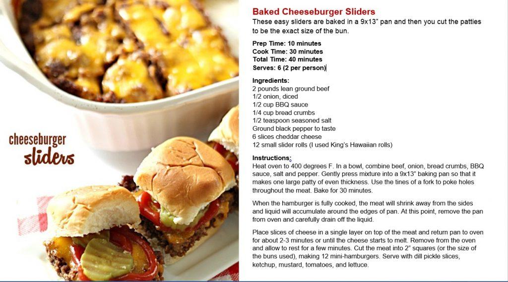 ebook baked cheeseburger sliders