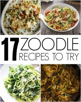 17 Zoodle Recipes to Try