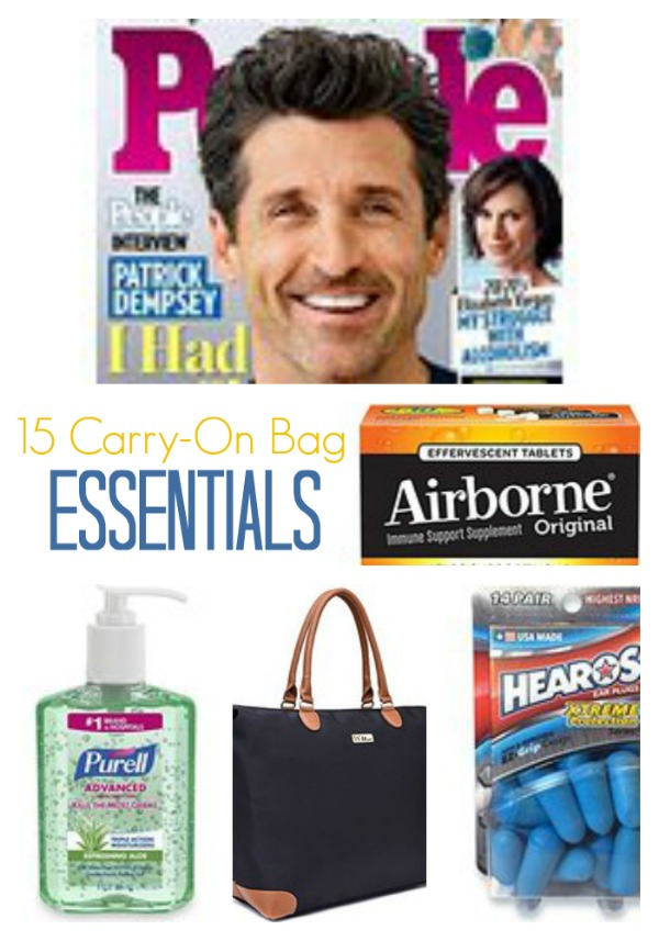 15 Carry-On Bag Essentials